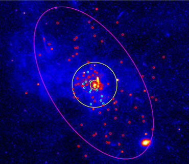 Chandra X-ray telescope to seek black holes