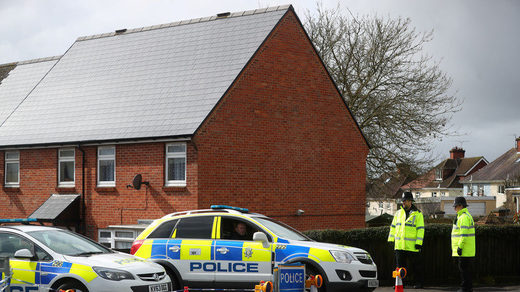 Home of former double agent Sergei Skripal