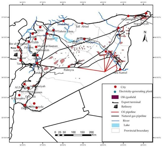 syria oil deposits