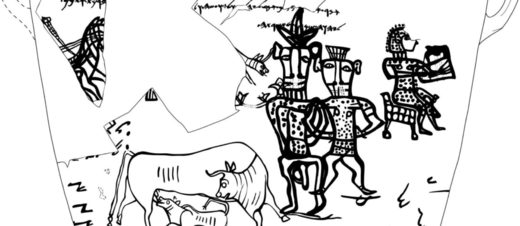Is that a 3,000-year-old picture of god, his penis and his wife depicted by early Jews at Kuntillet Ajrud?