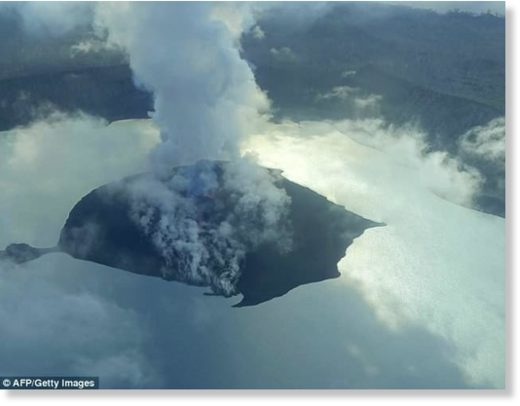 A state of emergency has been declared for Vanuatu's Ambae Island as a volcano continues to spill heavy ash