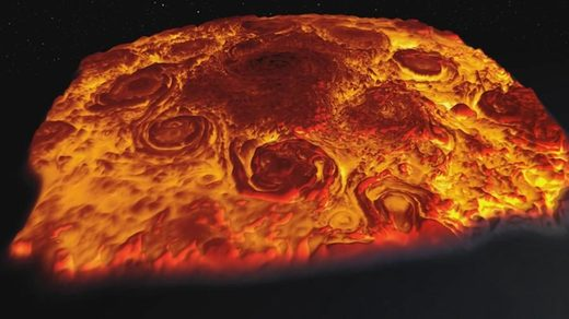 3D flyover of Jupiter reveals planet's menacing