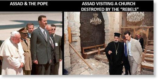 Assad religious beliefs Christianity