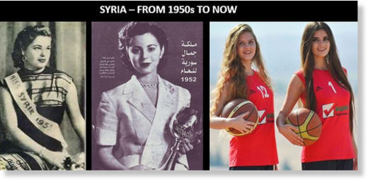 Syria secular women