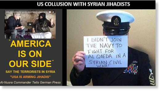 American support for jihadists