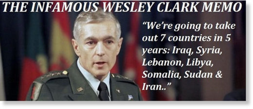 Wesley Clark 7 countries in 5 years