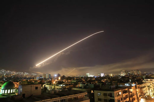 US missile lanuch syria