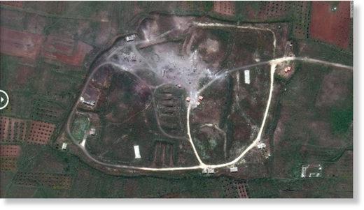 Homs target after