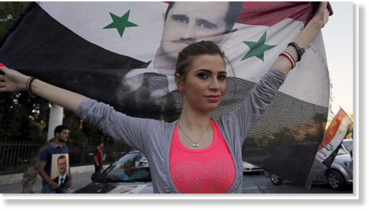 Assad Syrian people support