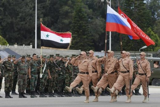 Russian troops Hmeimym airbase syria