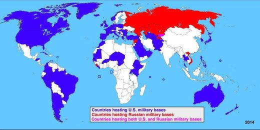 us russian military bases