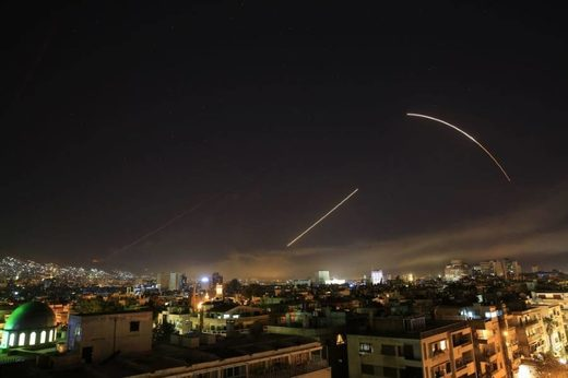 US missile attack Syria