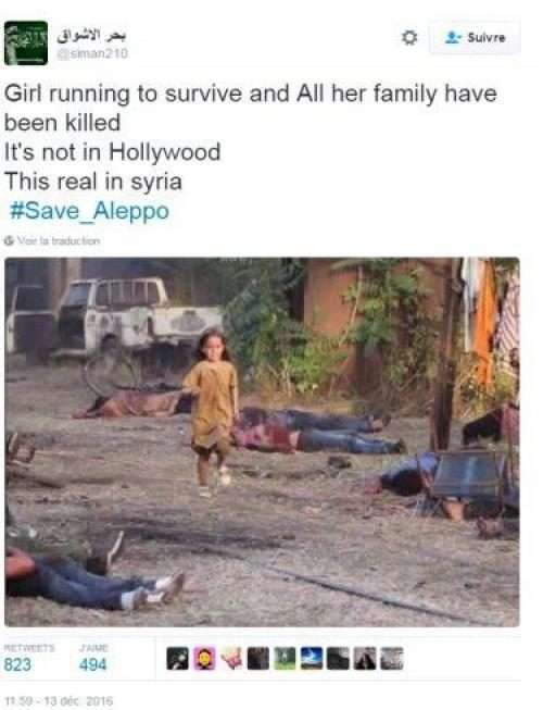 Syria propaganda photo