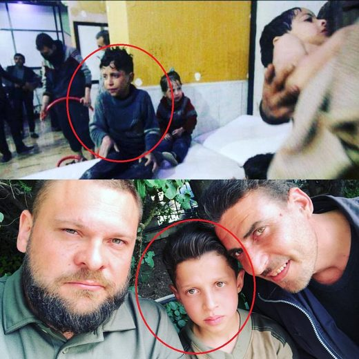 Hassan Diab child chemical attack Douma Syria