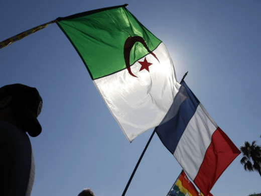 French Algerian flag