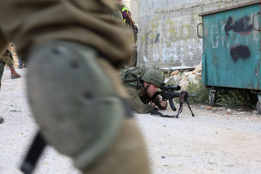 Israeli snipers west bank