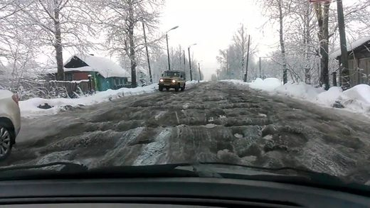 Spring coming to Russia