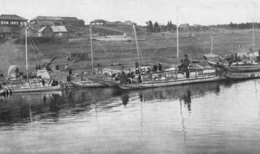 Boats of the Yenisei-Ostiaks