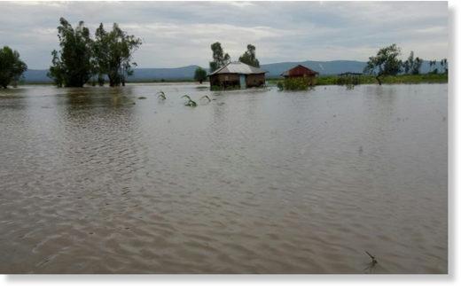 Floods in Nyando, Kisumu County.