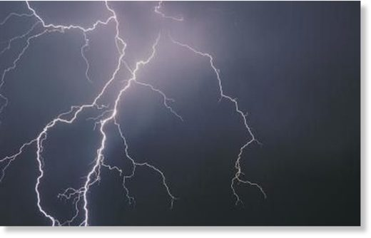 Lightning strikes from freak storms during the monsoon season have left 19 people dead in eight districts of Bangladesh.