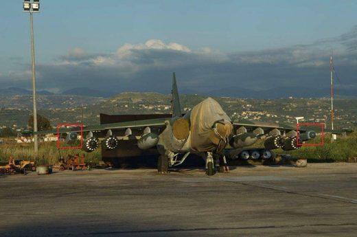 A Su-25SM3 attack aircraft