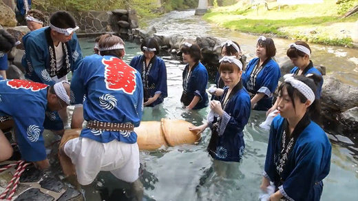 Big in Japan: Giant wooden phallus carried down mountain for fertility fest