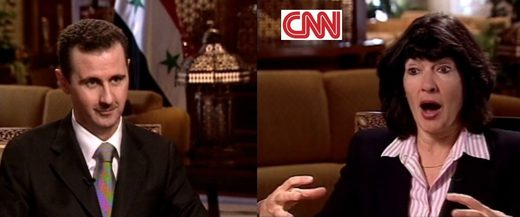 cnn interview assad