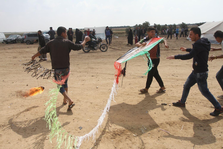 באריכט: פאלעסטינער וועלן אפשטעלן פליענדע טעראר קאמפיין