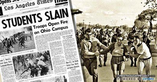 troops Ohio campus 1970 massacre