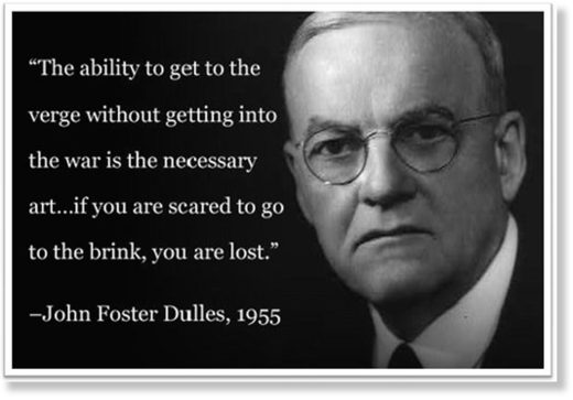 John Foster Dulles quote