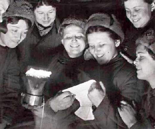 Women soldiers during the Battle of Stalingrad
