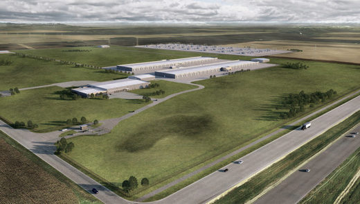 Google data center Iowa
