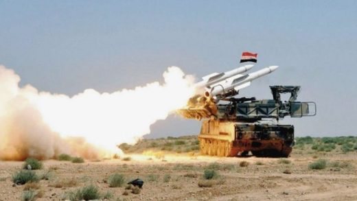 Syrian air defense system