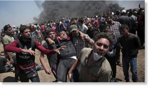 Gaza protests deaths