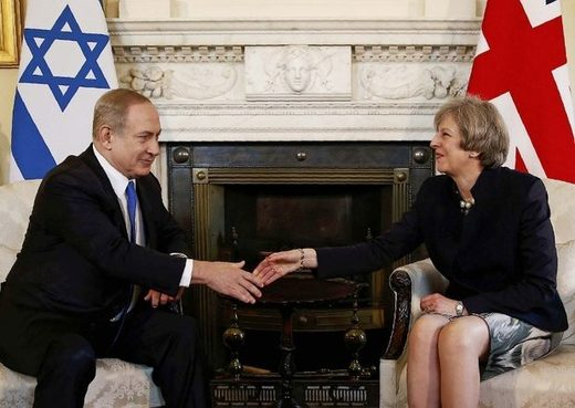 netanyahu theresa may