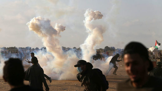 Israel-Gaza border May 15, 2018