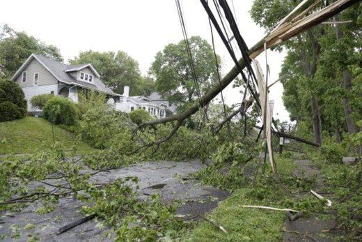 Newburgh storm damage