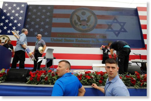 inauguration of the U.S. Embassy in Jerusalem