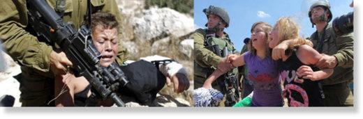 IDF Palestinian children