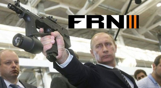 Putin with Gun