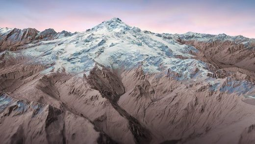 Recently completed lidar maps of Glacier Peak strip away the heavy vegetation and reveal the underlying topography, including tracks of past eruptions and lahars.