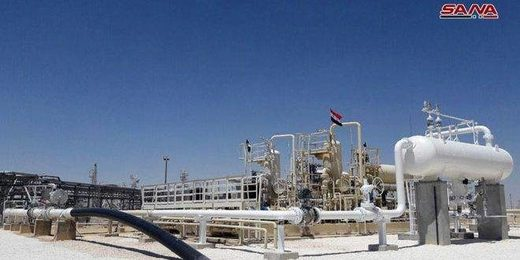 Raqqa gas field back in operation after being liberated by Syrian govt