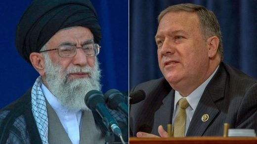 Mike Pompeo Rouhani
