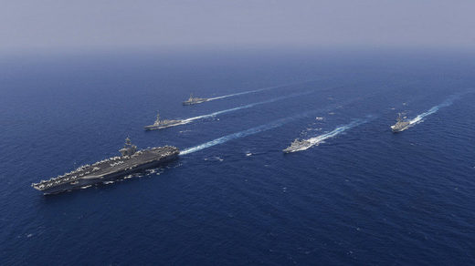 Theodore Roosevelt strike group US Navy