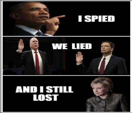 spied and lied