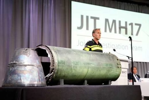 JIT MH-17 missile