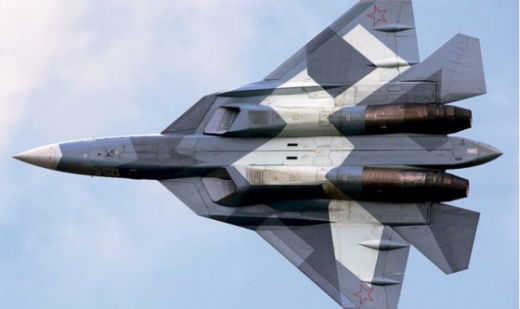 Russian Su-57 fighter jet
