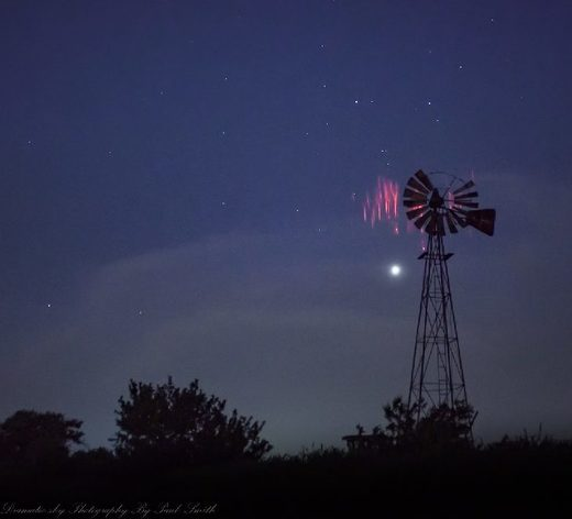 red sprites oklahoma 30th May 2018