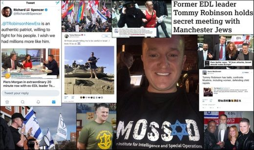 tommy robinson headlines