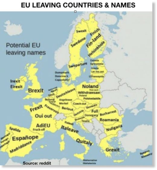 EU leaving countries